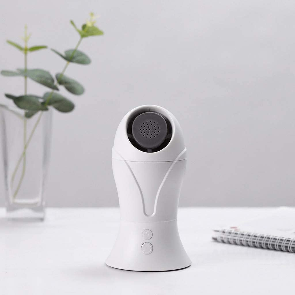 Dumanfs Mini Portable USB Essential Fan for Bedroom Office Speed Adjustment Aromatherapy Fan 90 Degree Rotation