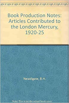 Descargar Torrent Ipad Book Production Notes: Articles Contributed To The London Mercury, 1920-25 Leer PDF