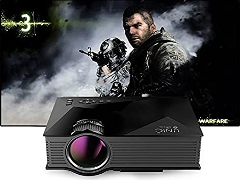 OWLENZ PRMN002 - Mini proyector (WiFi/DLNA, 1200 lúmenes ...