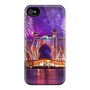 Faddish Phone Atlantis Hotel Case For Iphone 4/4s / Perfect Case Cover
