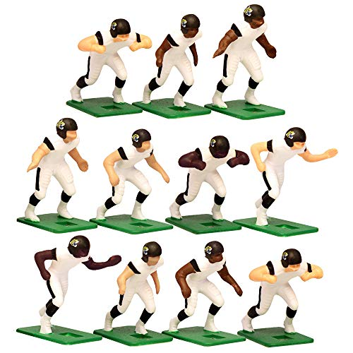 Jacksonville Jaguars Away Jersey NFL Action Figure Set