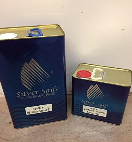 Amazon.com: Plata velas pinturas SS401 MS Turbo Uretano ...