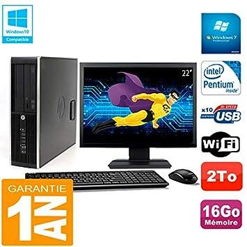 """HP Compaq Pro 6200 SFF - Ordenador portátil (Pantalla de 22"""", Intel G840"""