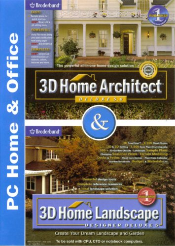 amazon com broderbund 3d home architect deluxe 5 0 3d home