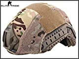 Military Airsoft Tactical Helmet Cover Combat Fast Helmet Cover Multicam MC