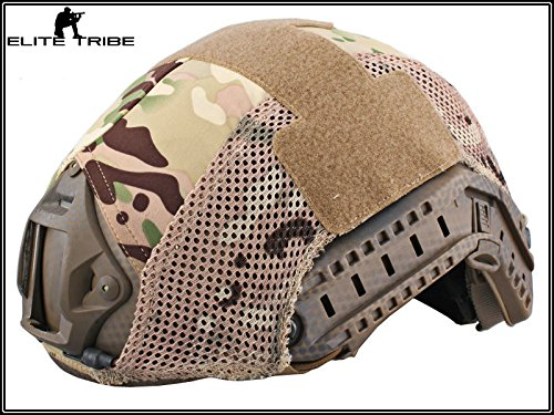 Military Airsoft Tactical Helmet Cover Combat Fast Helmet Cover Multicam MC by Paintball Equipment