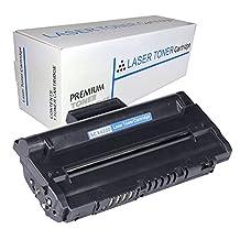 Proosh Compatible Toner Cartridge for Samsung SCX-D4200A, Black, Non OEM; for use in Compatible Printers: Samsung SCX-4200 Laser Printer