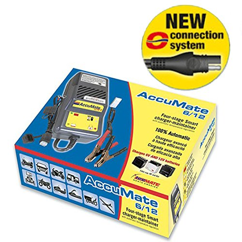 NEW!! 2015 Accumate Trickle Battery Charger 'WITH NEW SAE CONNECTOR'
