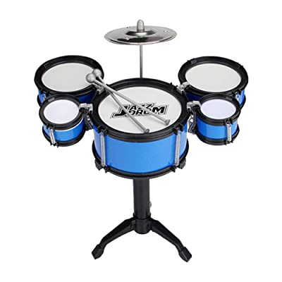 Kids Drum Set for Boys and Girls Early Education Educational Toys Exercise Coordination Hands-on Ability Musical Instrument: Home & Kitchen
