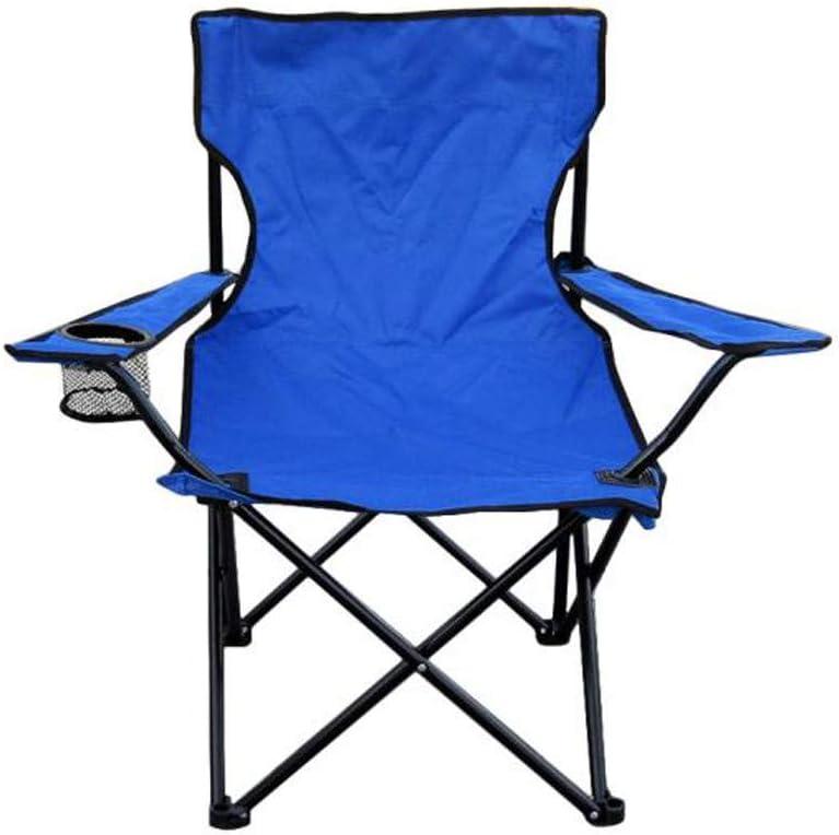 CapsA 折りたたみアーム 砂 ビーチ キャンプ ハイキング アウトドア チェア シート 登山 スポーツ ブルー
