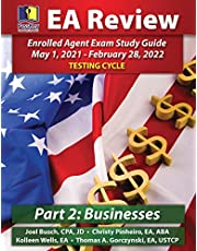 PassKey Learning Systems, EA Review Part 2 Businesses, Enrolled Agent Study Guide: May 1, 2021-February 28, 2022 Testing Cycle
