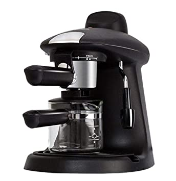 Máquina de Café Espresso Semiautomática Cafetera de Vapor ...