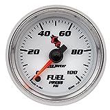 Auto Meter 7163 C2 Full Sweep Electric Fuel Pressure Gauge