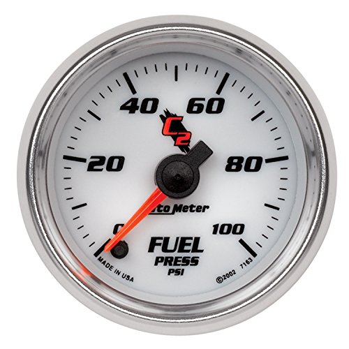 Auto Meter 7163 C2 Full Sweep Electric Fuel Pressure - Full C2 Sweep