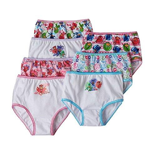 PJ Masks Toddler Girls Panties 7 pr. (2T/3T) (Paw Patrol Chase Toddler Costume)