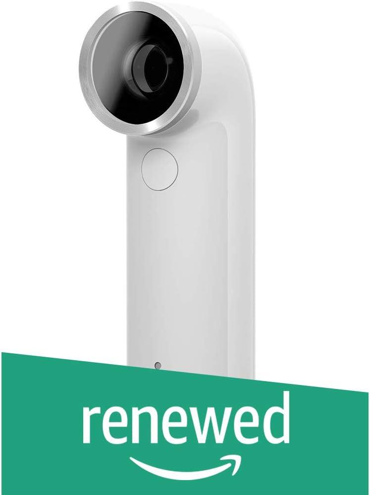HTC RE 16.0MP Waterproof Digital Camera (White) (Certified Refurbished)