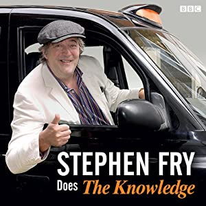 Stephen Fry Does the 'Knowledge' Radio/TV