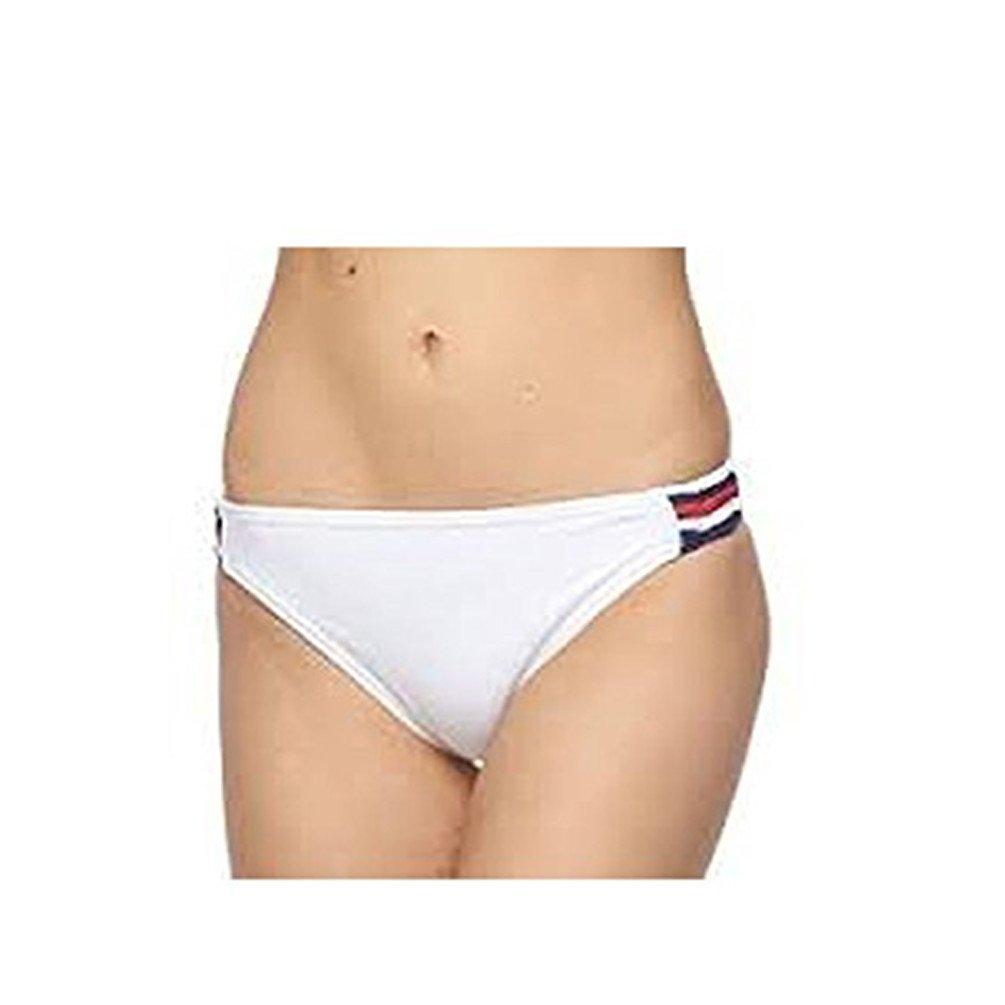 Endless Sun Patrioticレッド、ホワイト、ブルーString Bikini Bottom B072C4RP1X Medium|ホワイト