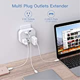 One Beat 3 Outlet Surge Protector, Multi Plug