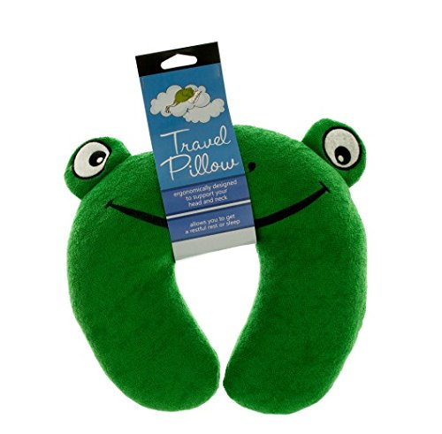 Frog Terry - Bulk Buys Terry Frog Travel Pillow-12-Pack
