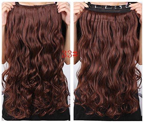 Meisi Hair Haarverlängerung, 20 Zoll (50,8 cm), , # 33, Stück: 1