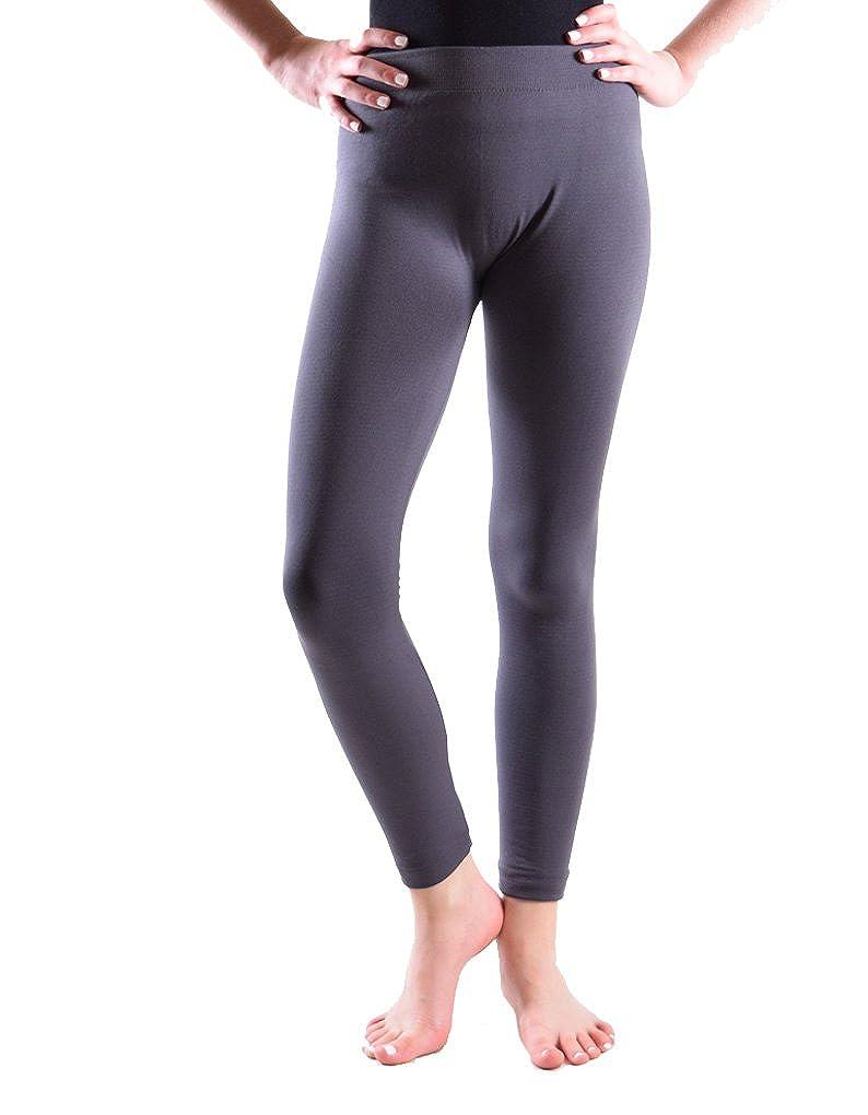 Girls Fleece Lined Leggings Sold as Single, 2, 4 and 5 Pack