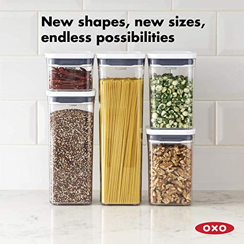 NEW OXO Good Grips POP Container - Airtight Food Storage - 1.7 Qt for Dried Beans and More
