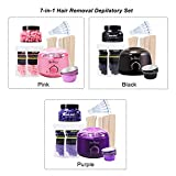 Anself 7-in-1 Hair Removal Depilatory Set Wax