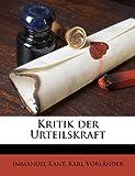 Kritik der Urteilskraft, Immanuel Kant and Karl Vorländer, 1176759868