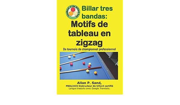 Billar tres bandas - Motifs de tableau en zigzag: De tournois de ...