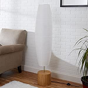 Amazon Com Mainstays Rice Paper Shade Floor Lamp Office