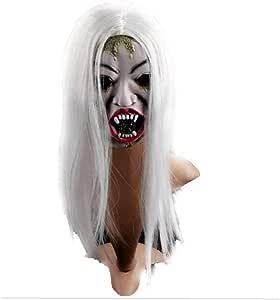 Nicedier Creativa del Horror de Halloween Mueca Fantasma Cara Cubierta asustadiza del Zombi de ...