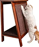 The Refined Feline AFRAME-MA A-Frame Cat Bed Scratcher - Mahogany