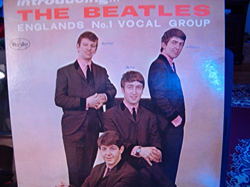 (introducing The Beatles 6th version Vee Jay Records Label)
