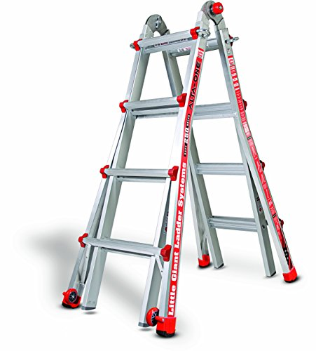 Little Giant 14013-001 Model 17 250 Lbs Capacity Alta-One Ladder, 15 Feet (Little Giant Alta One Ladder With Work Platform)