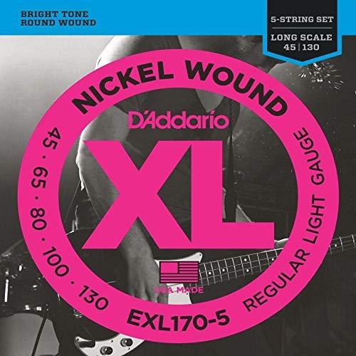 ENCORDOAMENTO DADDARIO BAIXO 5 CORDAS EXL170-5 045
