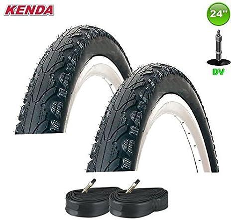 2 x Kenda K-935 Cubierta Bici Tapa Abrigo 24 X 1.75, 47-507 + 2 ...