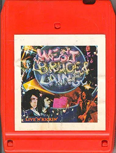 West, Bruce & Laing: Live 'N' Kickin' -34719 8 Track Tape