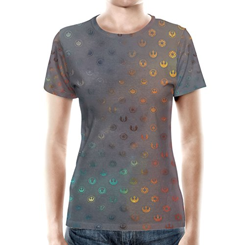 Galaxy Far Away Women Cotton Blend T-Shirt Damen XS-3XL