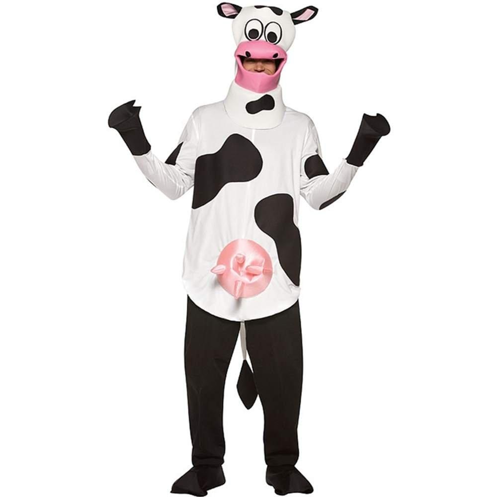 Fancy - Disfraz de vaca para hombre, talla única (RI320): Amazon ...
