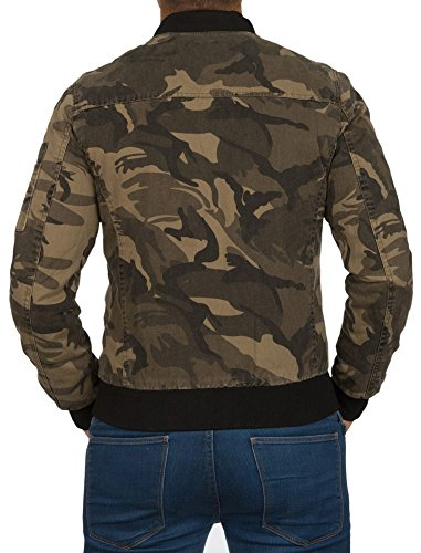 Jacke - Army Style - Tarnfarbe - camouflage