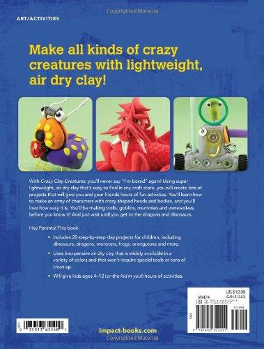 Crazy Clay Creatures (Kids DIY)