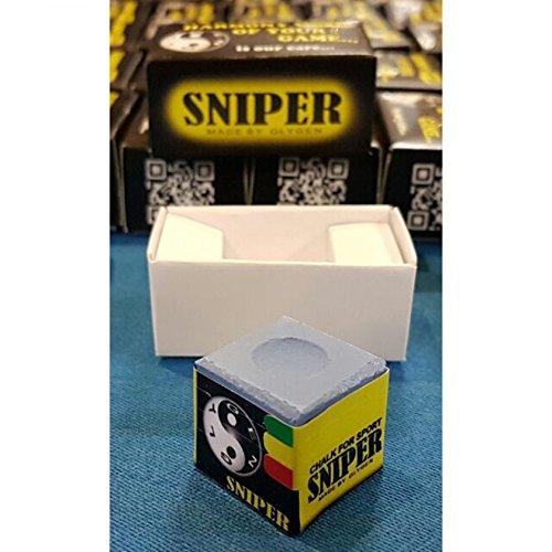 Sniper Chalk Billard Kreide Glygen