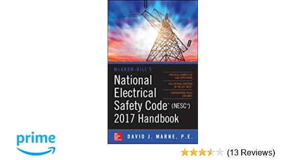 mcgraw hill s national electrical safety code 2017 handbook mcgraw rh amazon com Electrical Safety Training Manual Electrical Safety Equipment