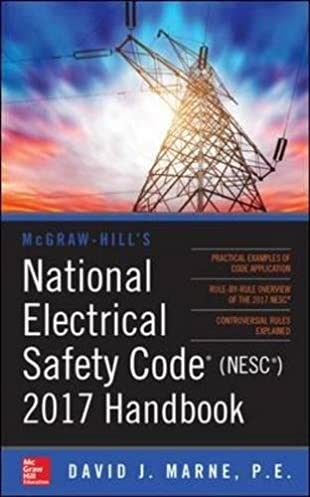 mcgraw hill s national electrical safety code 2017 handbook mcgraw rh amazon com Electrical Safety Topics Propane Safety Manual