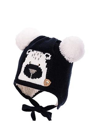 be62bc53ab4 Baby Boy - Bonnet à tricot chapeau d hiver Automne Garçon Taille 6 9 ...