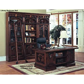 Marbella Double Pedestal Executive Home Office Desk Furniture