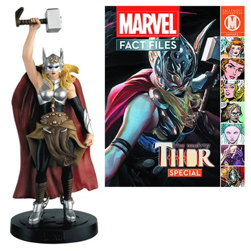 Marvel Fact Files Special #26 Mighty Thor Jane Foster Statue with Collector Magazine]()