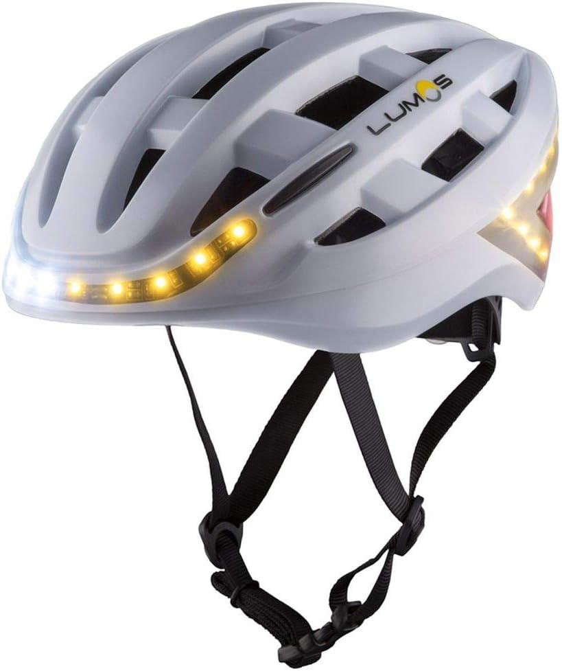 Lumos Smart – Casco de bicicleta con manillar intermitente ...
