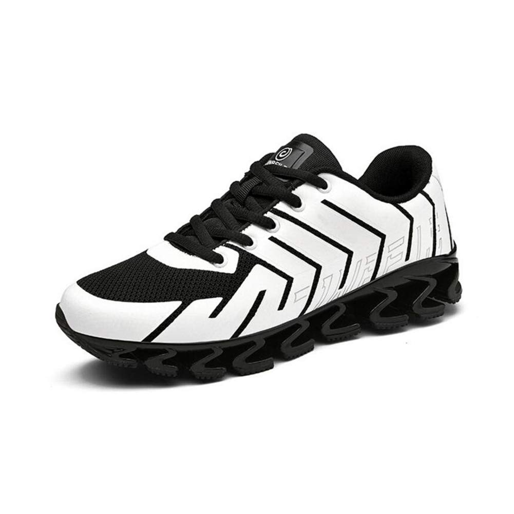 WYX Neue Herren-Turnschuhe Sportschuhe im Freien Casual Mens Schuhe Schoß Breathable Running schuhe,A,41